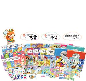 가나키즈 원리한글 유아 아동 학습교재 단계별 20권씩