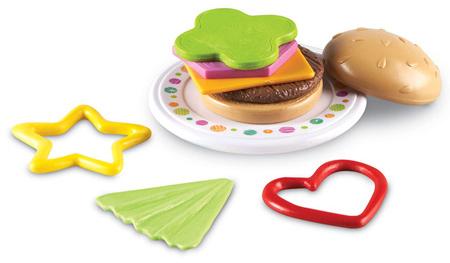 러닝리소스[EDU1470] 브라이트 바이츠) 햄버거 쌓기 Bright Bites™ Burger Shapes