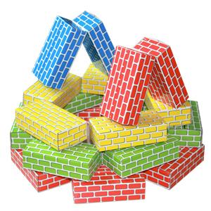 종이벽돌 블록 미니 50장/소프트블럭