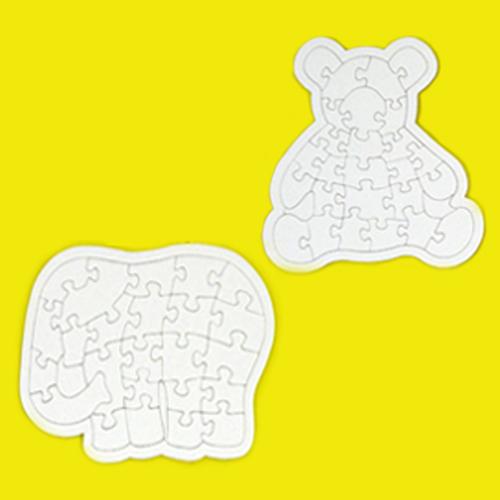 종이퍼즐코끼리/곰 중 선택-10개묶음