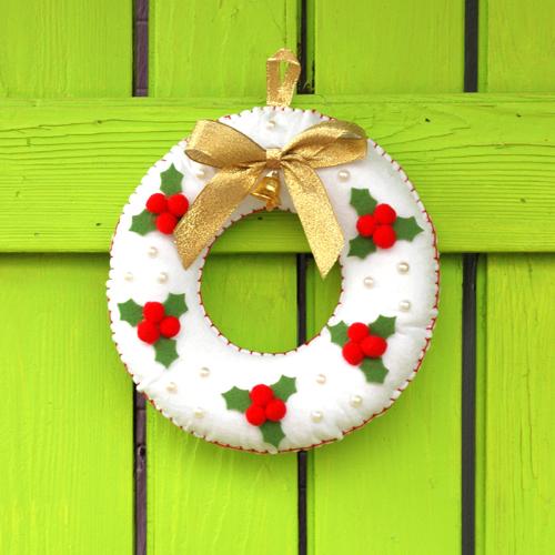 [크리스마스]리스 만들기 (2개 세트) - 어린이집 유치원 크리스마스만들기 만들기재료