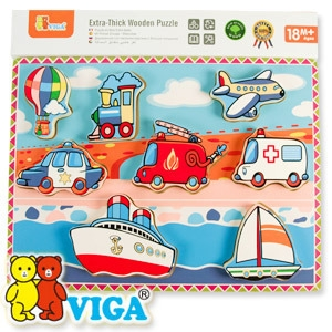 [VIGA] 교통 블럭퍼즐 - 유치원 어린이집 교수자료