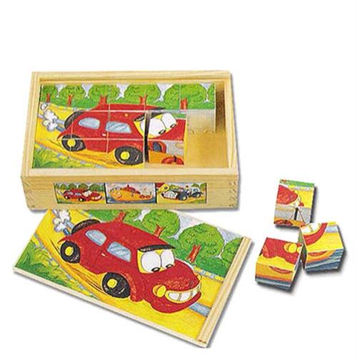 교통육각퍼즐 - 유치원 어린이집 교수자료
