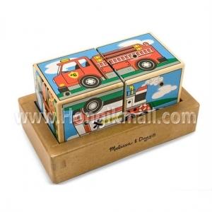 [HST1623]교통수단 사운드블럭 퍼즐 - 유치원 어린이집 교수자료