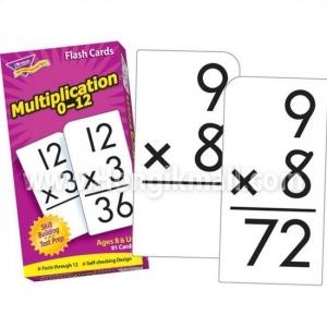 [htl8422] 기초 연산학습 카드 곱셈