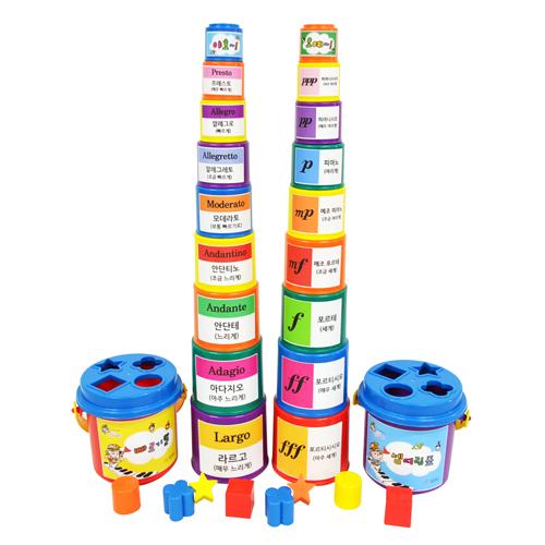 또리의 컵쌓기(빠르기말 & 셈여림표)