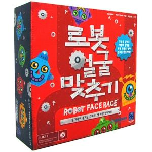 러닝리소스[EDU2889] 로봇 얼굴 맞추기 Robot Face Race™ (한글판 정품)-교육용 과학 로봇만들기 로봇키트